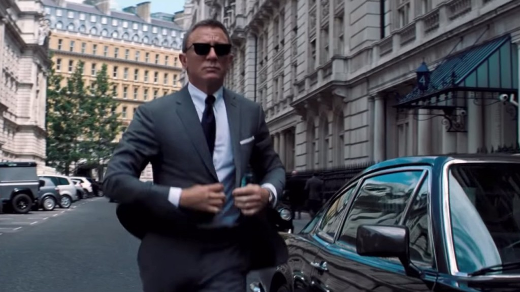 Teaser released for James Bond movie 'No Time to Die'
