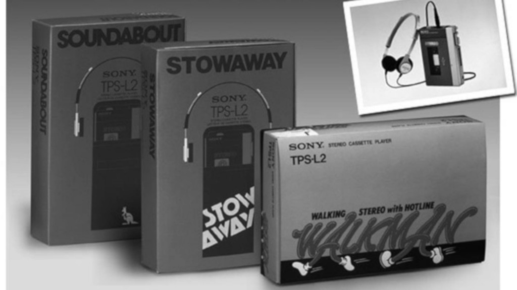Sony releases Walkman for its 40th anniversary