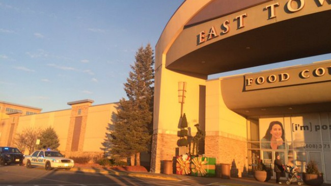 PHOTOS: Police respond to report of shots fired at East Towne Mall