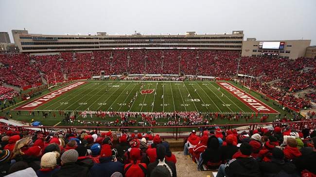 Madison ranked No. 1 college football town