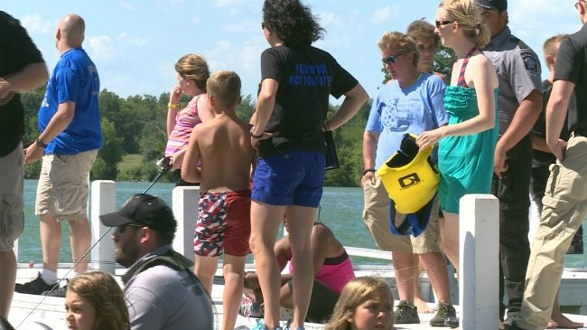 Camp helps kids of fallen officers heal