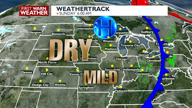 It's Sunday, But Rain Chances Are Creeping Back In Chris