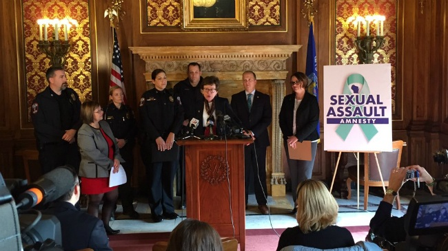 Bill would provide amnesty for sexual assault victims
