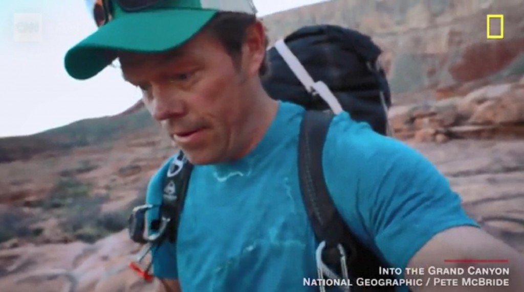 Man hikes entire length of Grand Canyon to save it