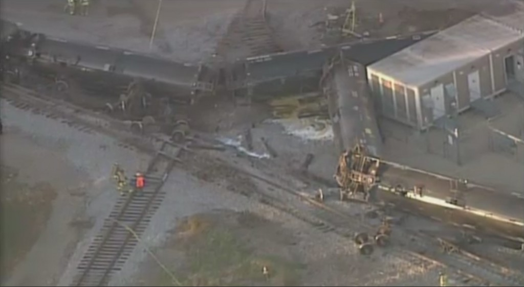 Broken rail determined as cause of Watertown train derailment
