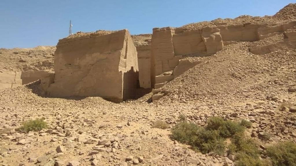 Egypt announces discovery of ancient port used by temple builders