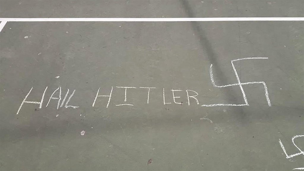 12-year-old charged with drawing anti-Semitic graffiti on NYC playground