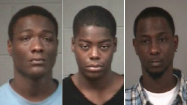 2 arrested, 2 being sought in connection with January shooting