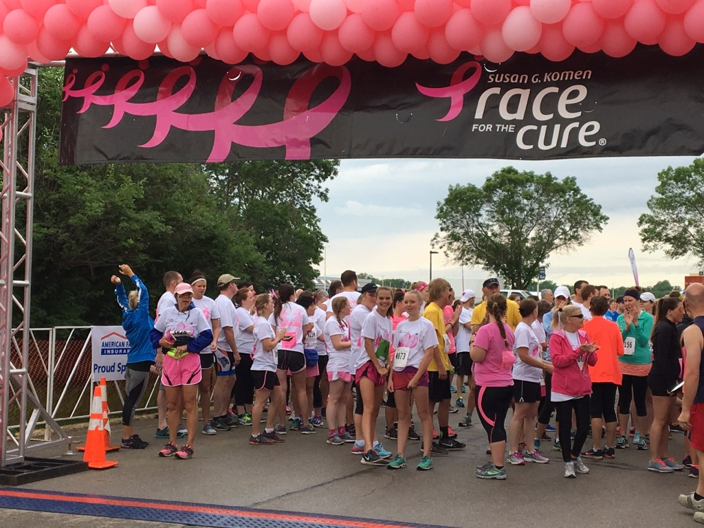 Coming together for the Race for the Cure