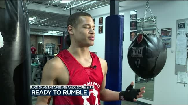 Local fighter is ready to rumble