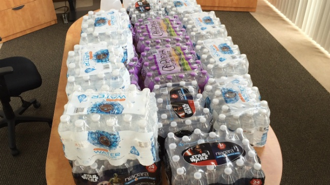 Madison organization rounds up water donations for Flint