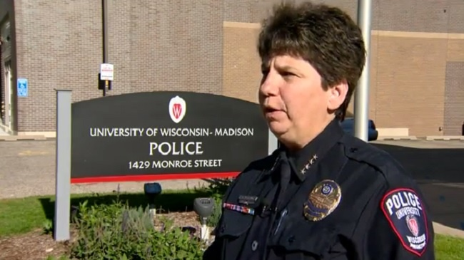 UWPD police release body camera, surveillance video of student's arrest