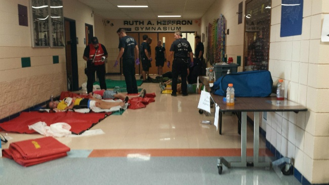 Verona active shooter drill prioritizes communication training