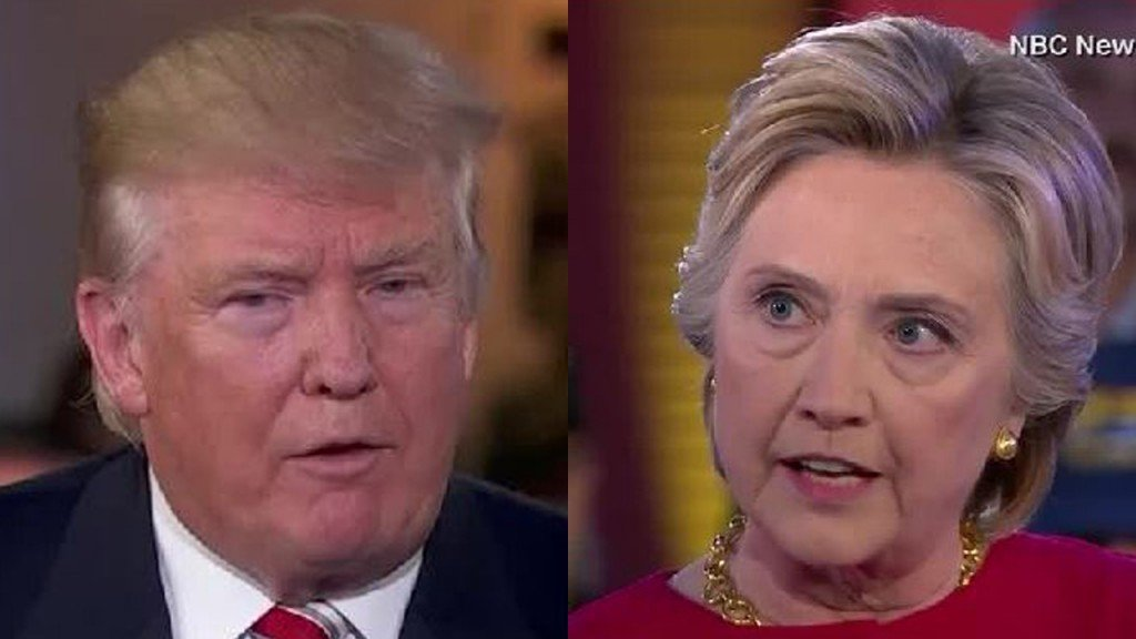Trump questions whether Clinton coordinated with Russians