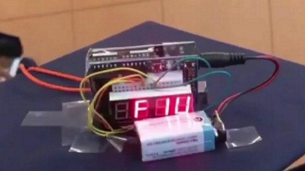 Engineering grad's electronic cap decoration almost caused bomb scare