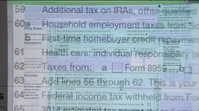 Affordable Care Act causing changes to 2014 taxes