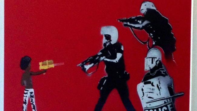 Police 'deeply troubled' by artwork in Madison Central Library