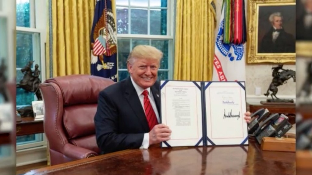 Trump signs 'Autism CARES Act' into law