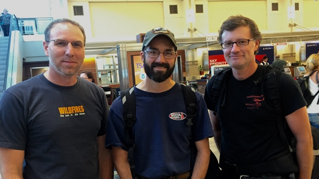 DNR firefighters return from fighting Montana wildfires