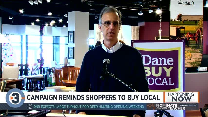 Campaign reminds shoppers to buy local