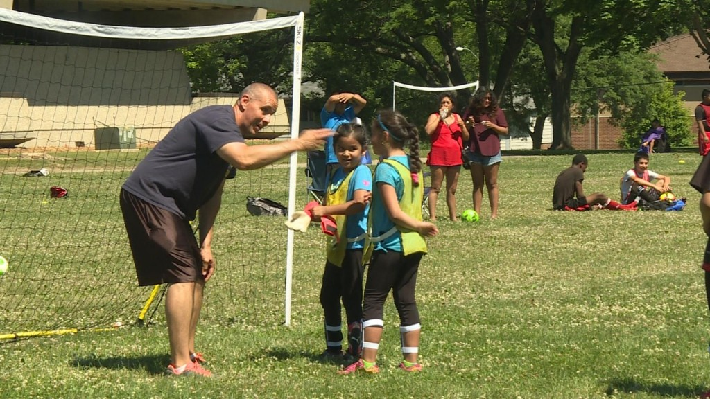 'Amigos en Azul' soccer game holds special meaning for police this year