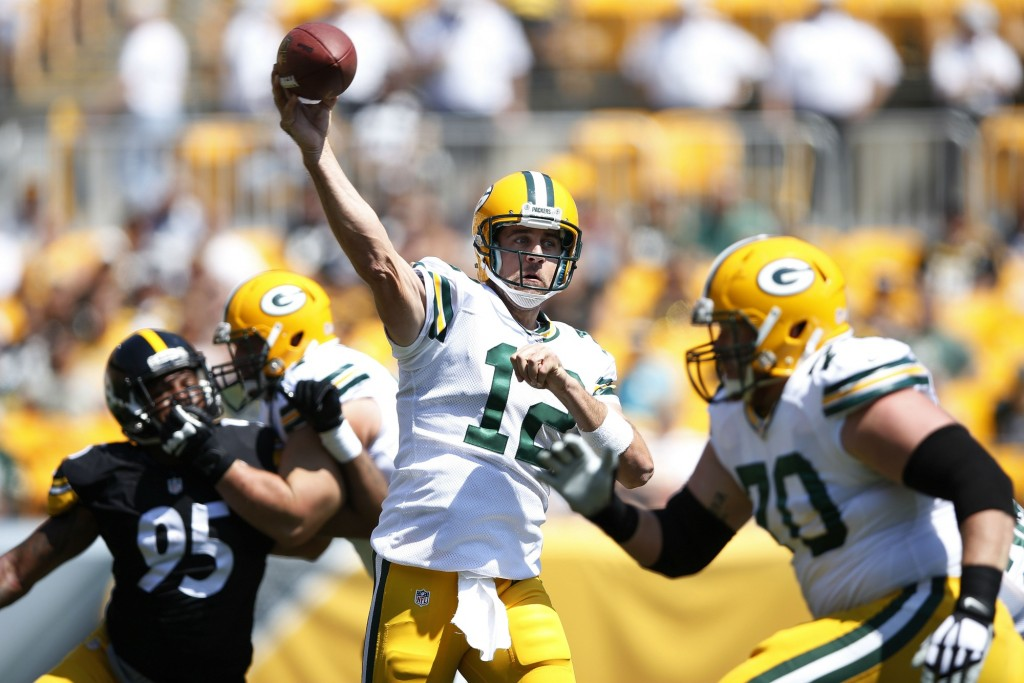 Rodgers' mobility makes him a different QB