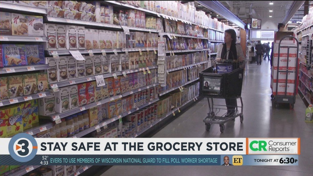 Consumer Reports: Stay Safe At The Grocery Store