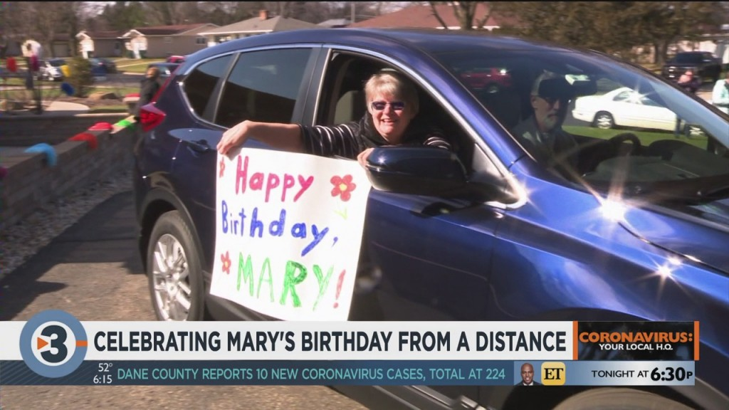 Celebrating Mary's Birthday From A Distance