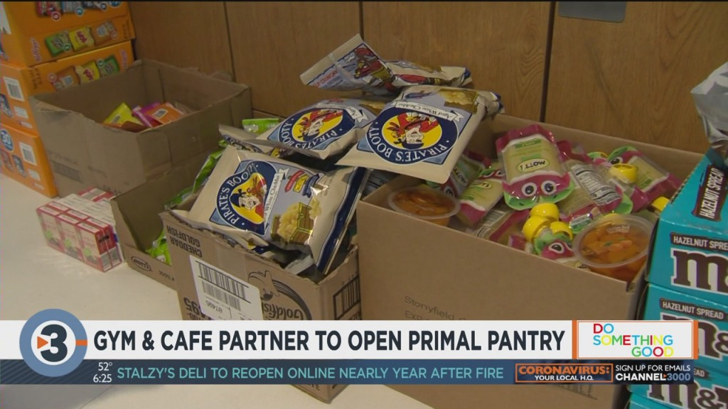 Gym, Cafe Partner To Open Primal Pantry