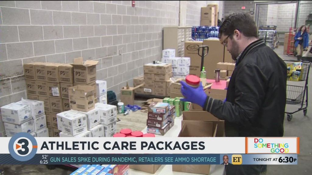 Red Card Athletics, Fresh Madison Market Making Care Packages For Athletes