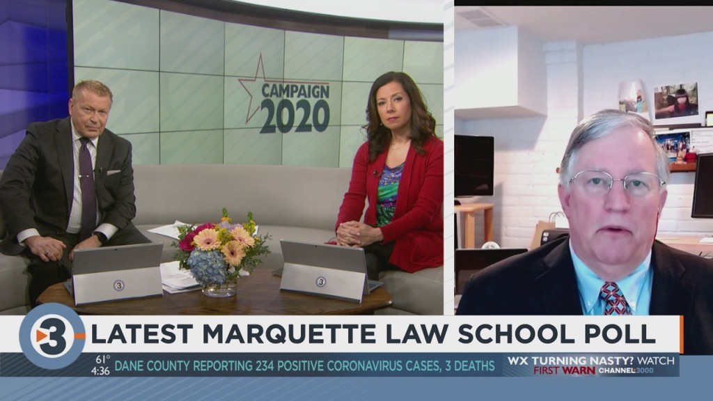 Director Of Marquette Law School Charles Franklin Discusses New Poll Numbers