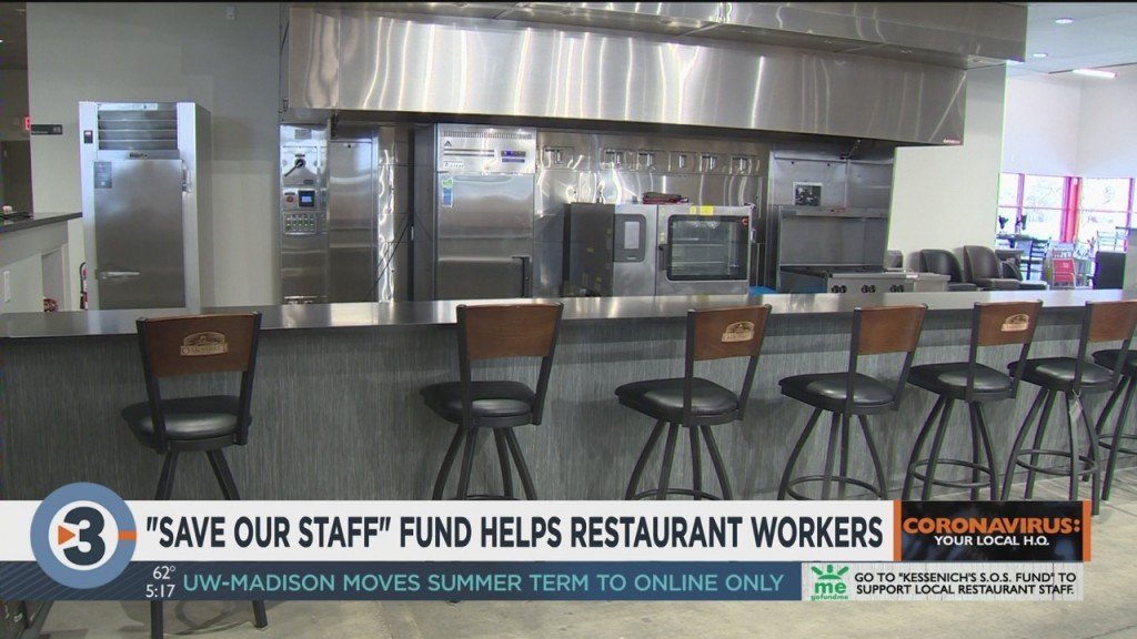 'save Our Staff' Fund Looks To Help Restaurant Workers