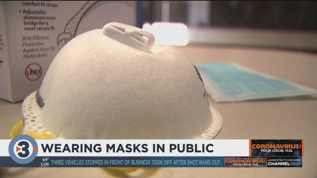 Wearing Masks In Public