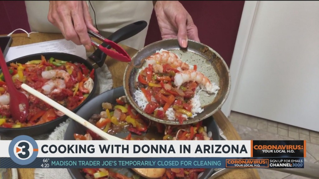 Cooking With Donna In Arizona