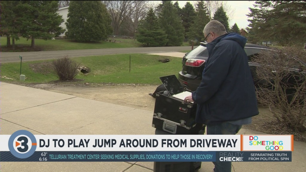 Dj To Play 'jump Around' From Driveway