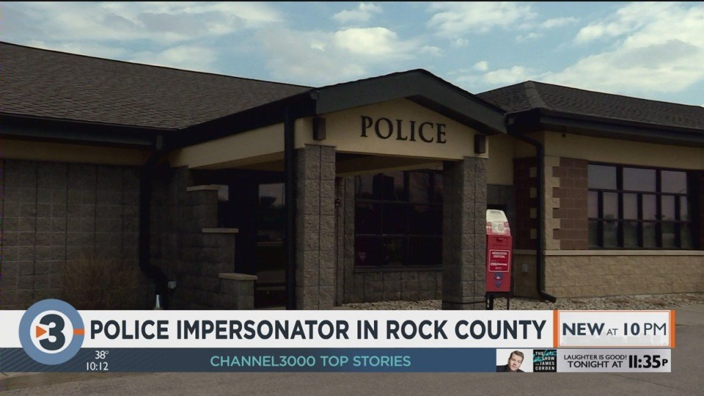 Police Impersonator In Rock County