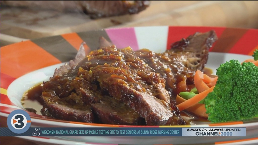 Mr. Food: Braised Brisket With Horseradish Sauce