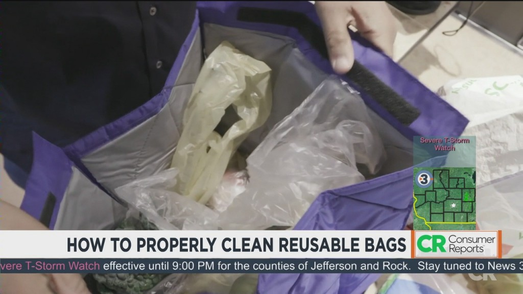 Consumer Reports: How To Properly Clean Reusable Bags