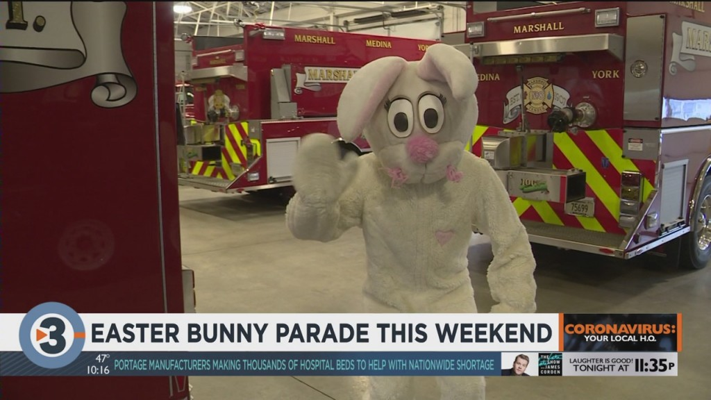 Easter Bunny Parade This Weekend
