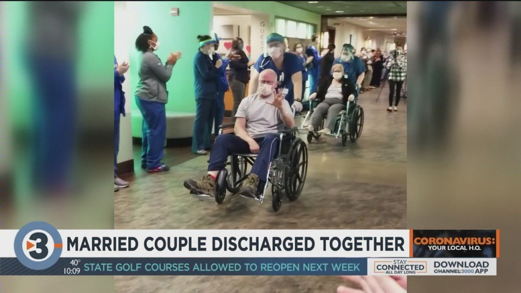 Married Couple Discharged Together