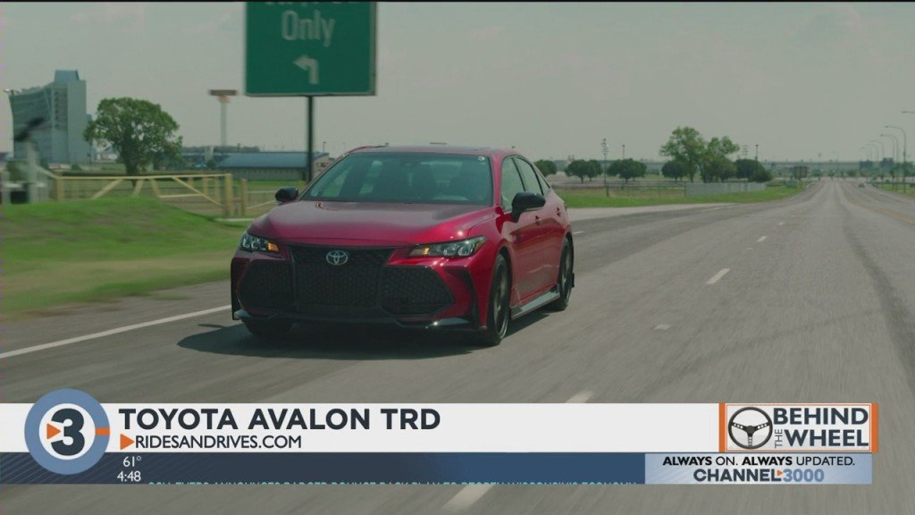 Behind The Wheel With Harvey Briggs: Toyota Avalon Trd