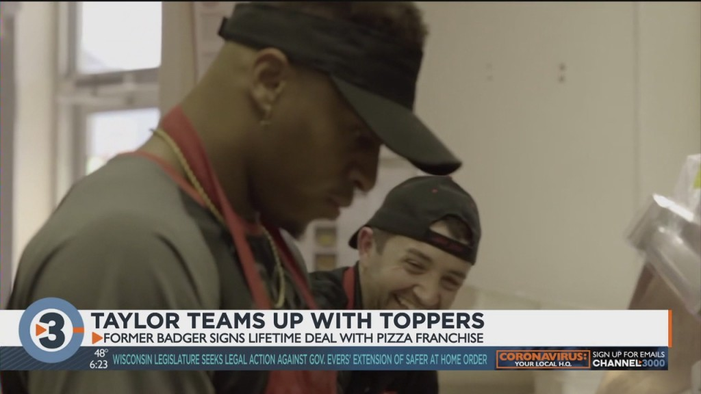 Former Badger Jonathan Taylor Becomes Spokesperson For Toppers, Will Own Four Madison Locations