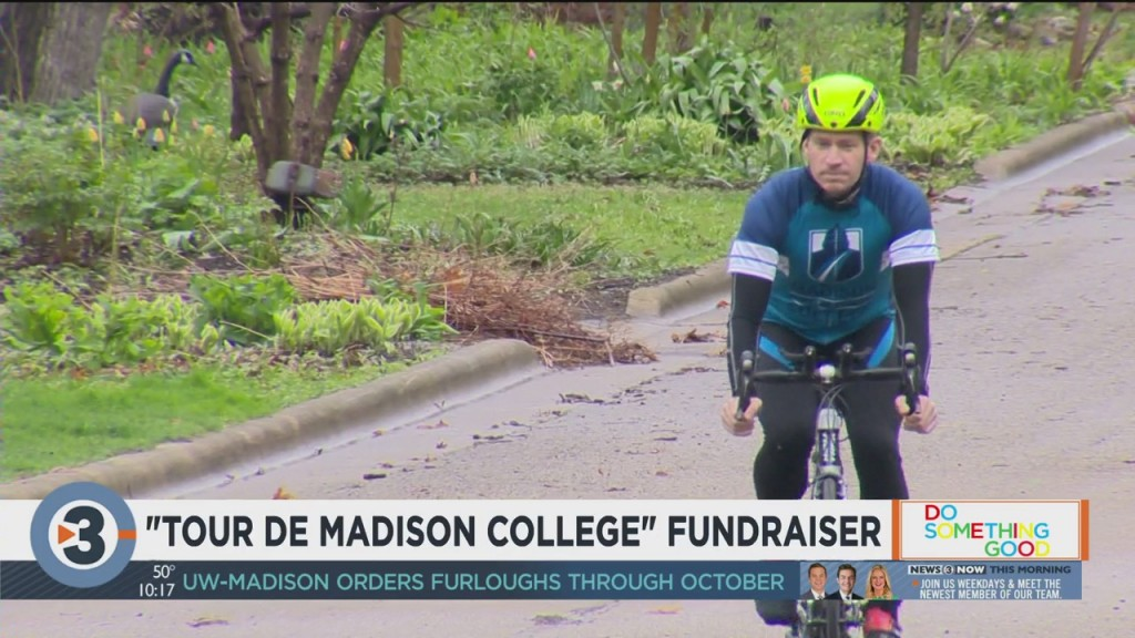 Madison College Administrative Manager To Bike 170 Miles As Part Of Fundraiser For Students In Need