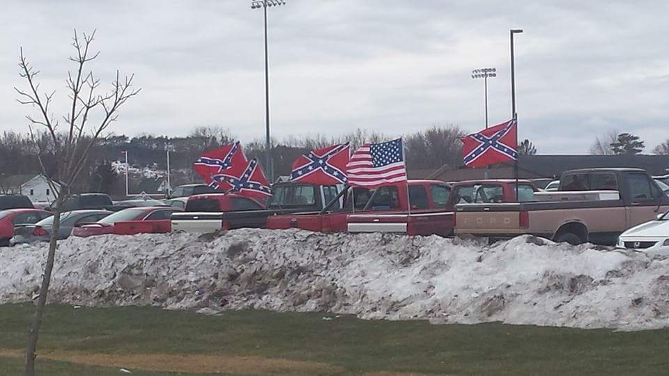 West Salem students' display of Confederate flags spark controversy