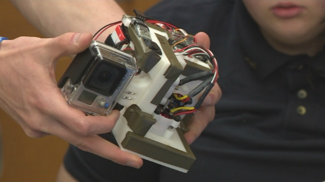 Platteville students hope to get their invention into space
