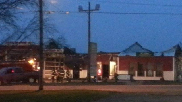 3 businesses affected by Hazel Green structure fire