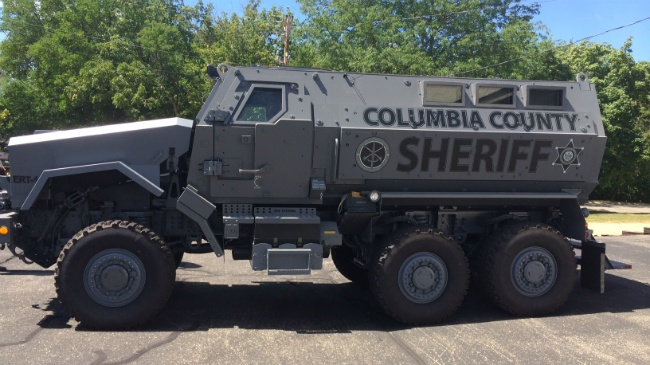 Columbia County Sheriff's Office adds MRAP to fleet
