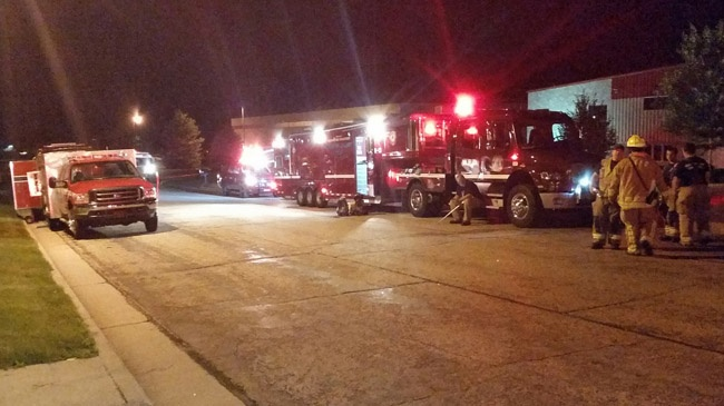 Hazmat crew called to DeForest after chemical spill