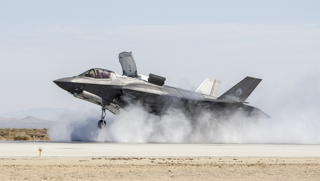 US F-35 fighter jet poised for combat debut