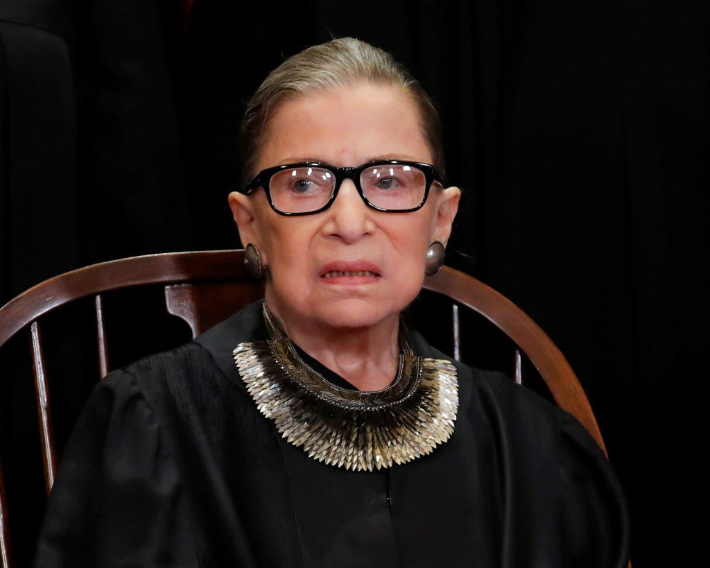 Ruth Bader Ginsburg speaks out with eye towards Roe v. Wade